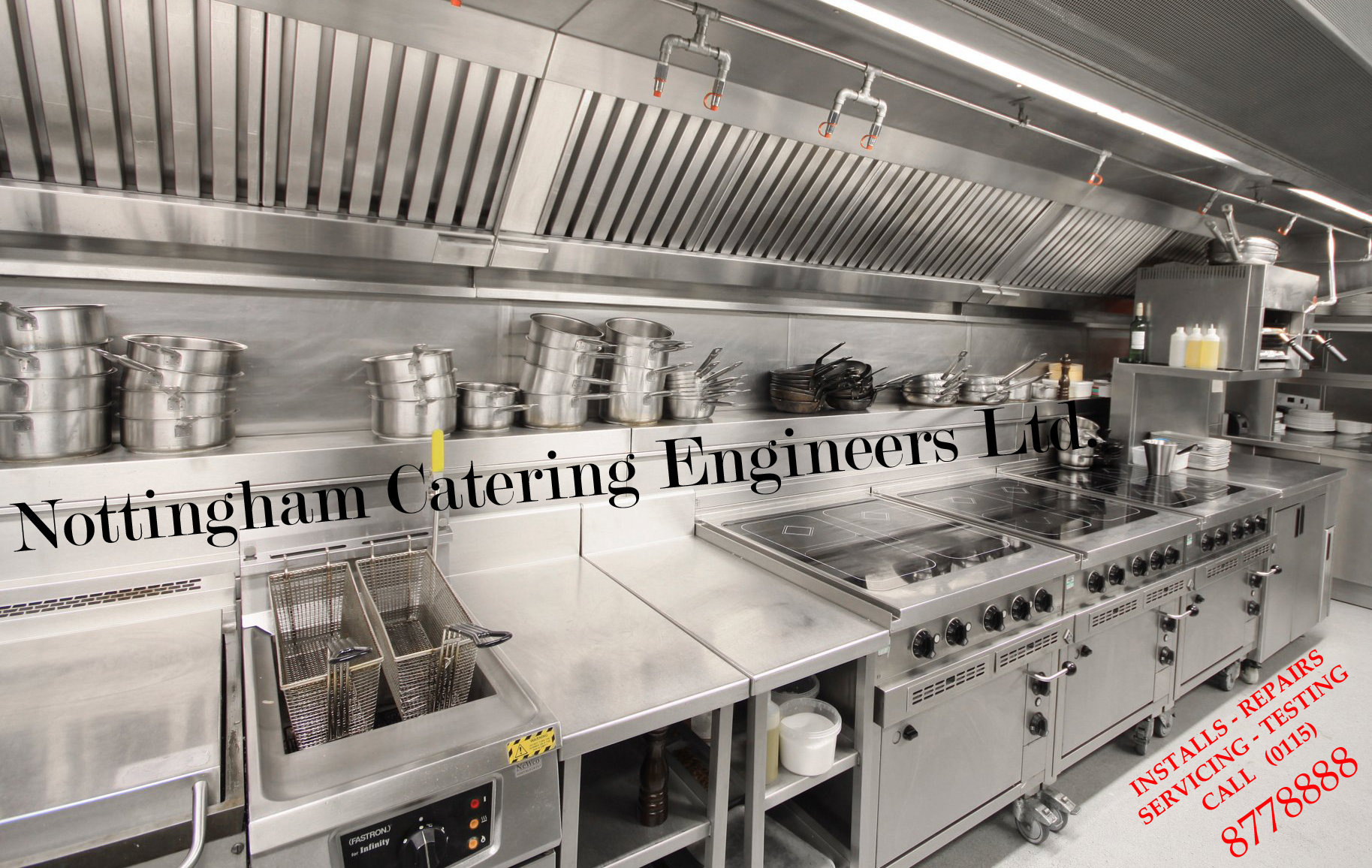 Nottingham Catering Engineers repairs sales install commercial catering equipment